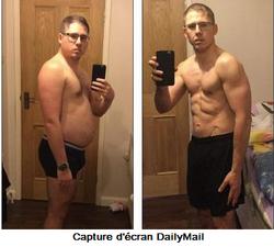 Traumatisé par une réflexion de sa petite fille de 3 ans, il perd 25 kilos en seulement 4 mois