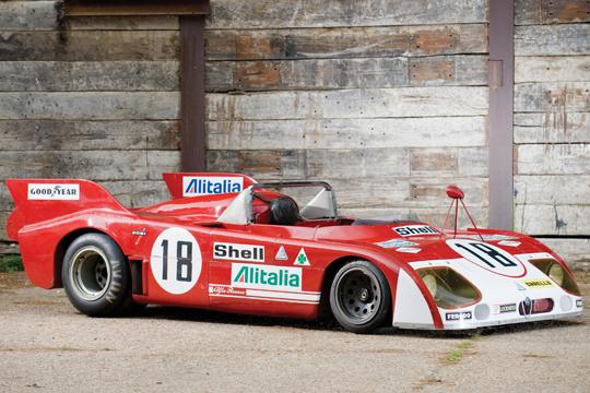 Alfa Roméo au Mans