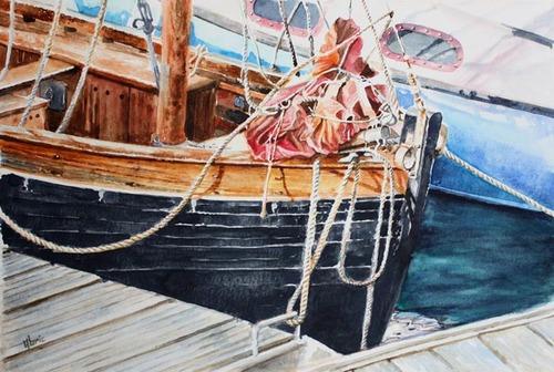 Peinture de : Gilbert Albric