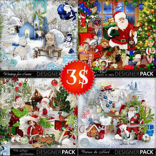Soldes kits et cu de Noël