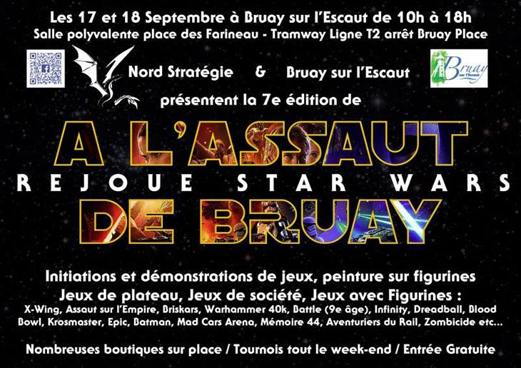 Salon des jeux de figurines, de société, de plateau... à Bray-sur-l'Escaut