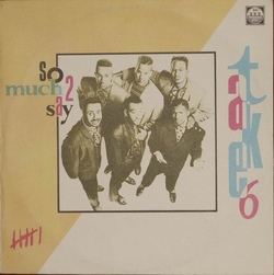 Take 6 - So Much 2 Say - Complete LP