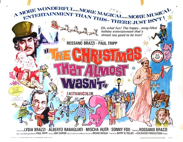 THE CHRISTMAS THAT ALMOST WASN'T IL NATALE CHE QUASI NON FU box office usa 1966