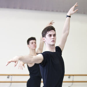dance ballet class pointe ballet luke marchant cameron hunter