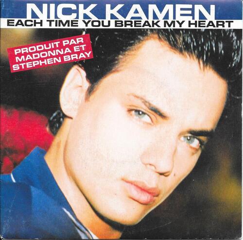 Nick Kamen - Each Time You Break My Heart 01