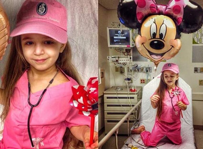 Virsaviya, cette adorable fillette qui se bat chaque jour contre cette maladie