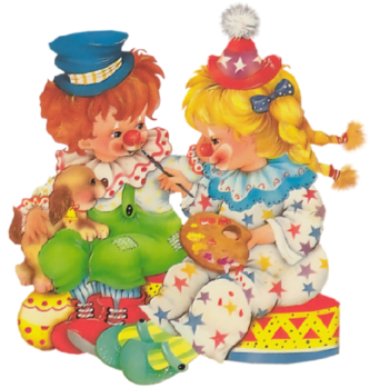 tubes clown cirque