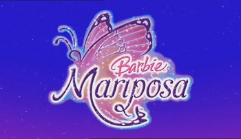 Logo du film Barbie Mariposa