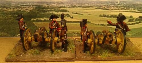 Caldiero 1796 Artillerie autrichienne
