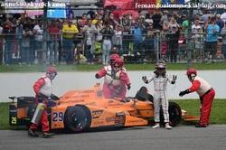 La malédiction de Honda chasser Fernando Alonso à Indianapolis