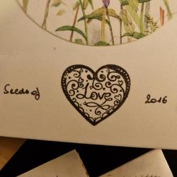Seeds Of Love 2016 : il était 3 jolies enveloppes...
