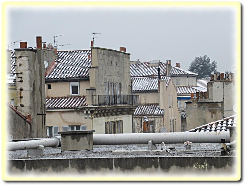 21 mars, épisode neigeux sur Marseille