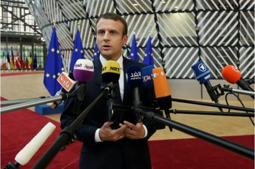 Les difficultés de Macron et la future loi sur le travail