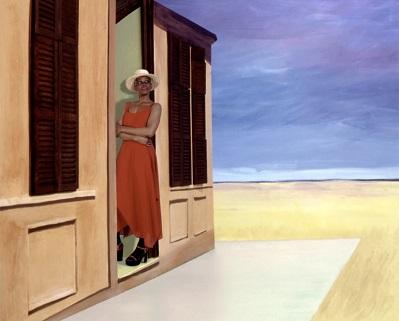 I love Edward Hopper ...