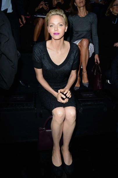 Charlène au défilé Louis Vuitton