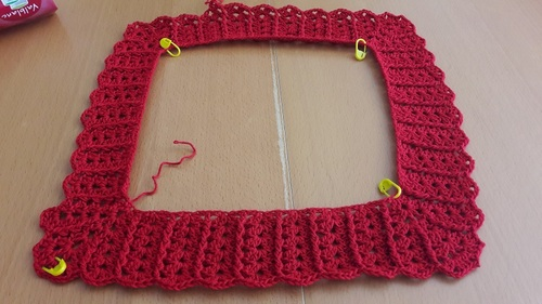 Tunique au crochet