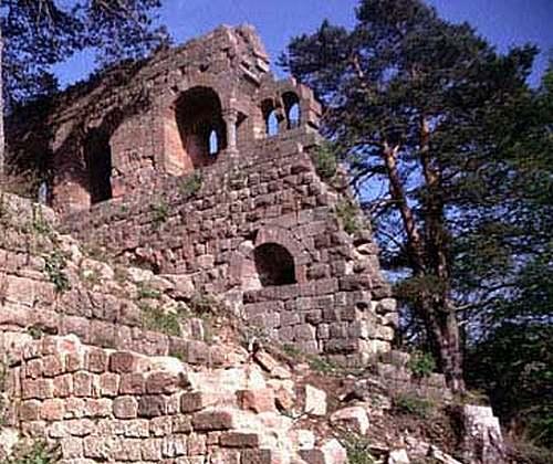 Le château de Landsberg