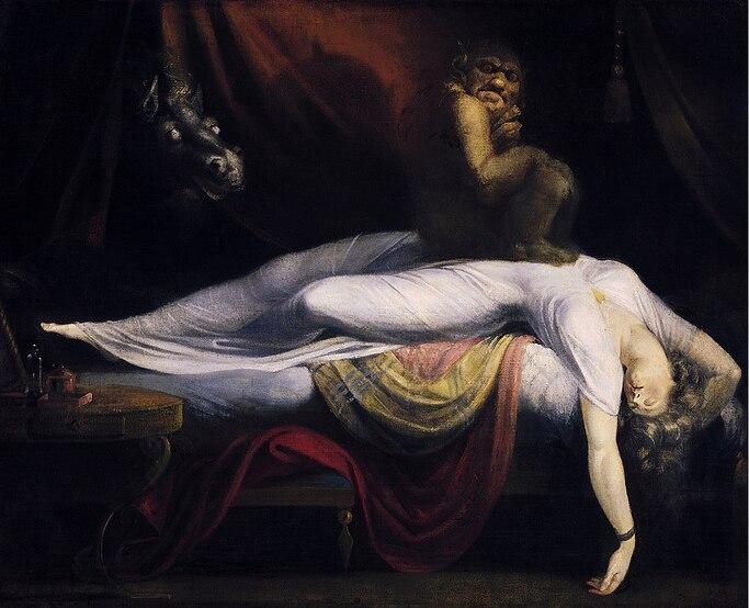 La nuit des Romantiques : le cauchemar de Füssli