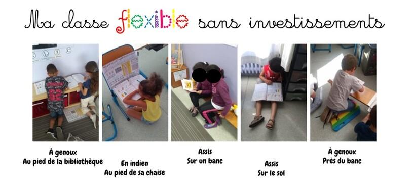 La classe flexible, ça déménage !
