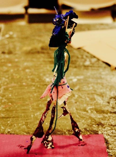 Les œuvres des ateliers arts plastiques