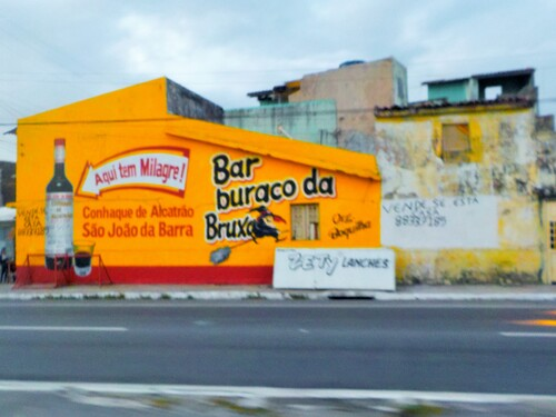 un bar à Maceio