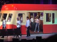 Les Enfoirés 2005 : Le train des Enfoirés