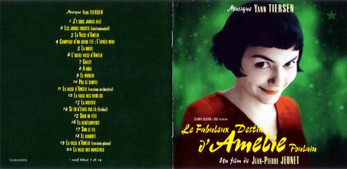 BO le fabuleux destin d'Amélie Poulain