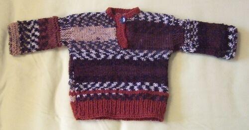 Un petit pull pour le dernier né
