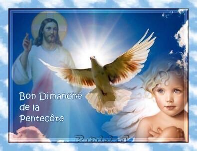 bon dimanche de Pentecôte