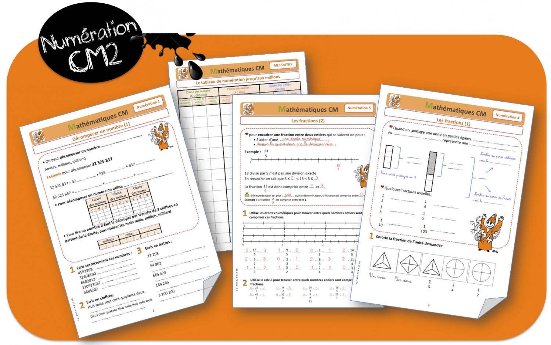 Le ons de num ration cm2 bout de gomme - Les fractions cm1 exercices a imprimer ...