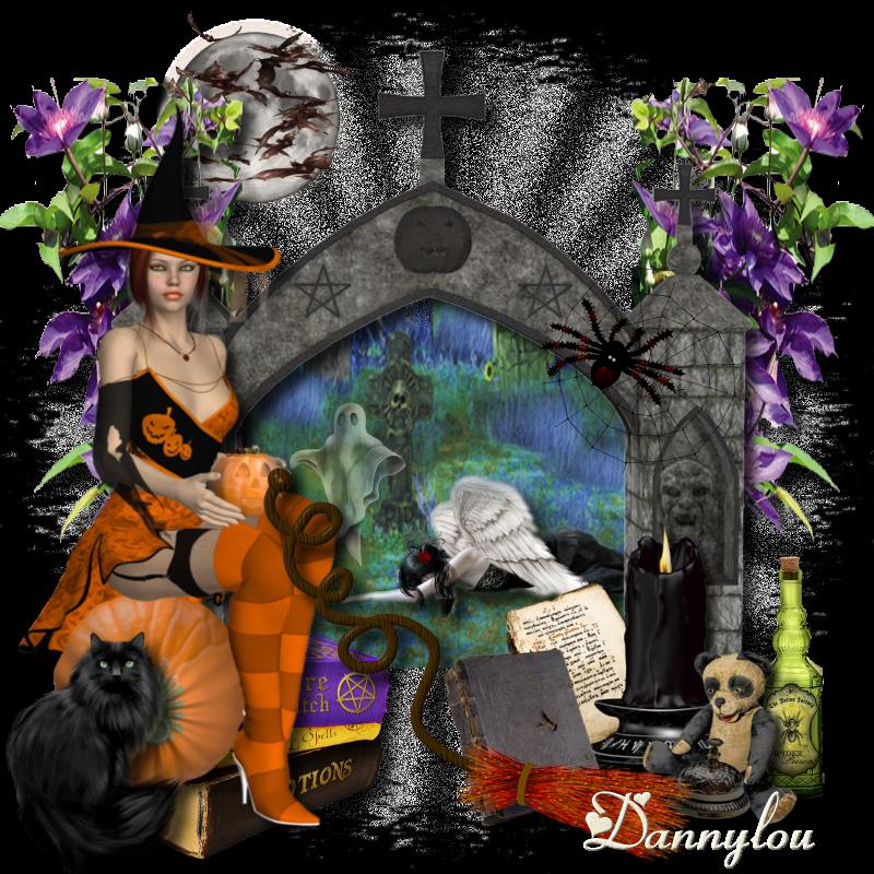 Page Halloween, créations sur forum