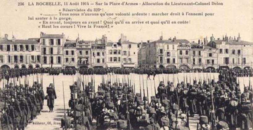 La Rochelle Août 1914