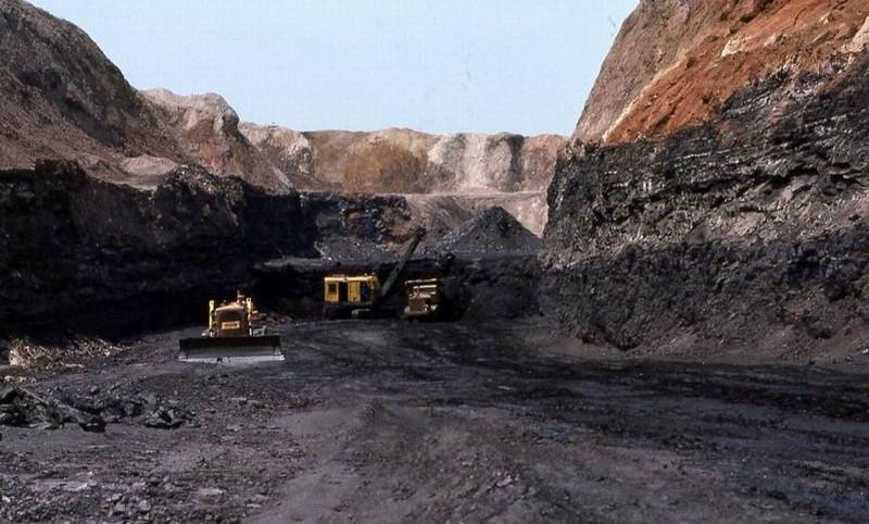 Mine de charbon de Luena