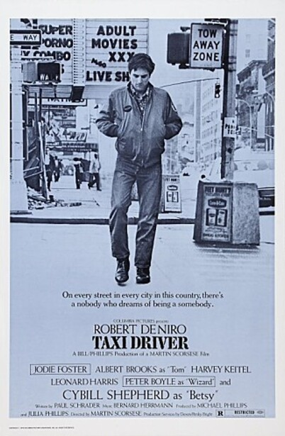 TAXI DRIVER BOX OFFICE USA 1976