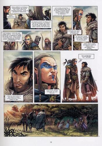 L'Elu des semi-Elfes de Corbeyran & Bordier - Elfes, tome 4