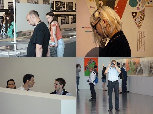 Centre Pompidou Metz 15 visiteurs 12 06 10
