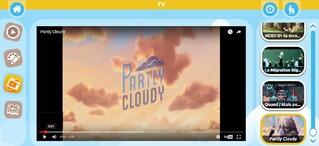 Partly Cloudy : rendez-vous dans la section TV de l'appli Badabim