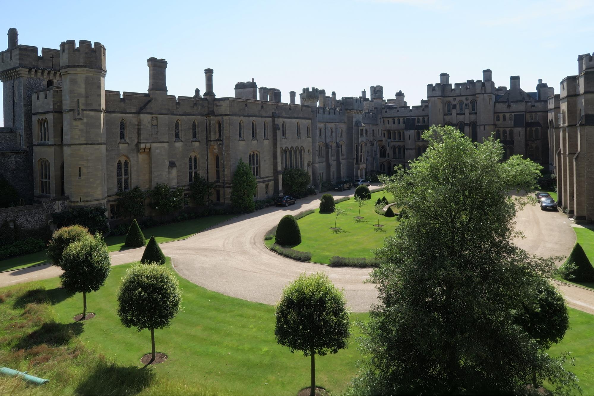 ARUNDEL #2 Le château : la partie privée et habitée