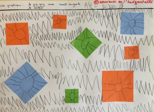 Exercices graphiques périodes 1et 2 pour les Moyens: les traits