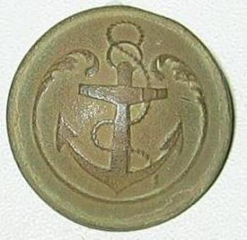 bouton infanterie de marine ou infanterie coloniale