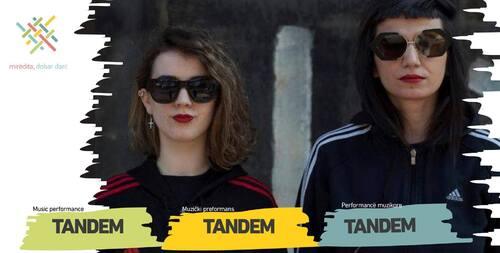 """4ème festival """"Mirëdita, dobar dan!"""" avec """"Tandem"""" (Oda Haliti et Blerta Kosova)."""