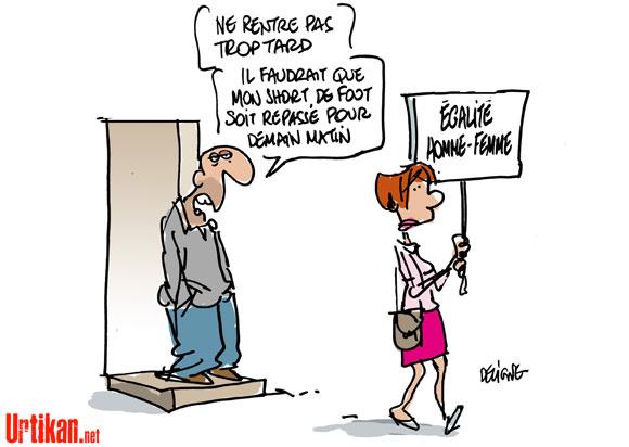 En France, le capitalisme discrimine les femmes au travail