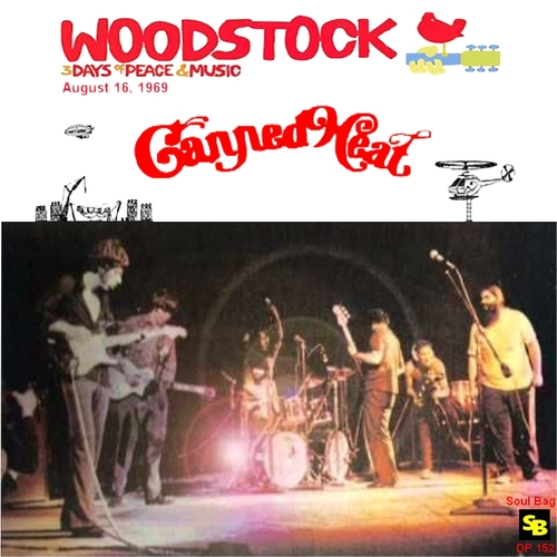 "Canned Heat : CD "" Live At Woodstock Festival August 16, 1969 "" Soul Bag Records DP 152 [ FR ]"