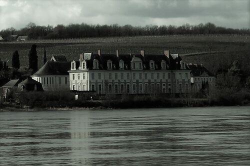 l'abbaye Saint-Maur de Glanfeuil