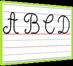 Graphisme CP : affichages des majuscules
