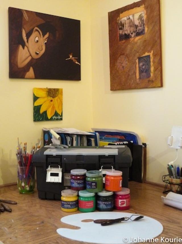 Mon atelier de Les Cèdres