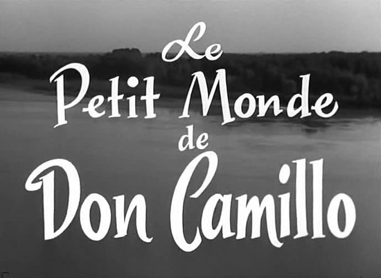 LE PETIT MONDE DE DON CAMILLO - BOX OFFICE FERNANDEL 1952