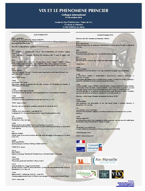 L'Assemblée Générale de la Société Archéologique et Historique du Châtillonnais (la SAHC) a eu lieu le 27 mai 2017