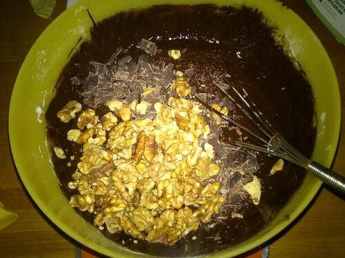 Un Brownies, un vrai de vrai !!!