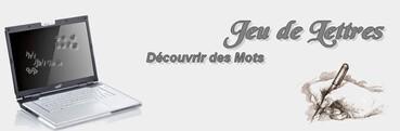 Jeu de Lettres n°32